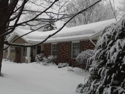 Preventing ice dam damage with better insulation