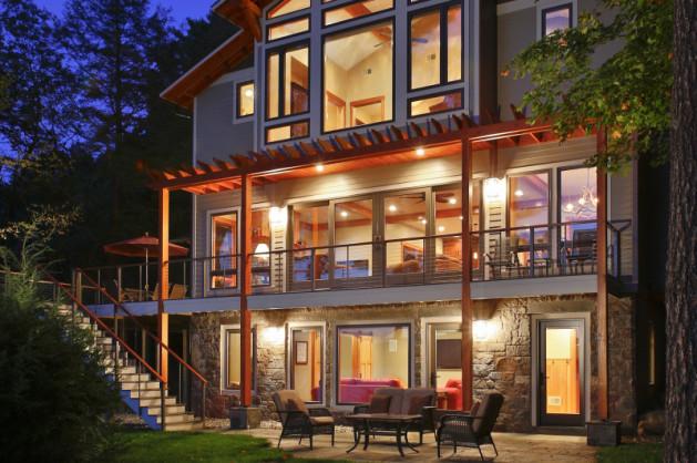 Prestigious Lake George Custom Home