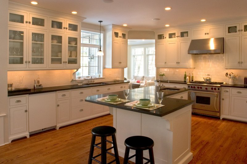 adding cabinets to existing kitchen renovation style teakwood builders 10459