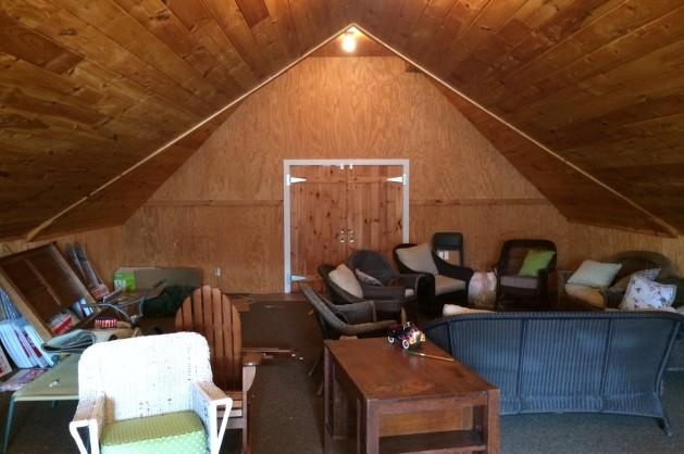 Teakwood Builders barn renovation before shot