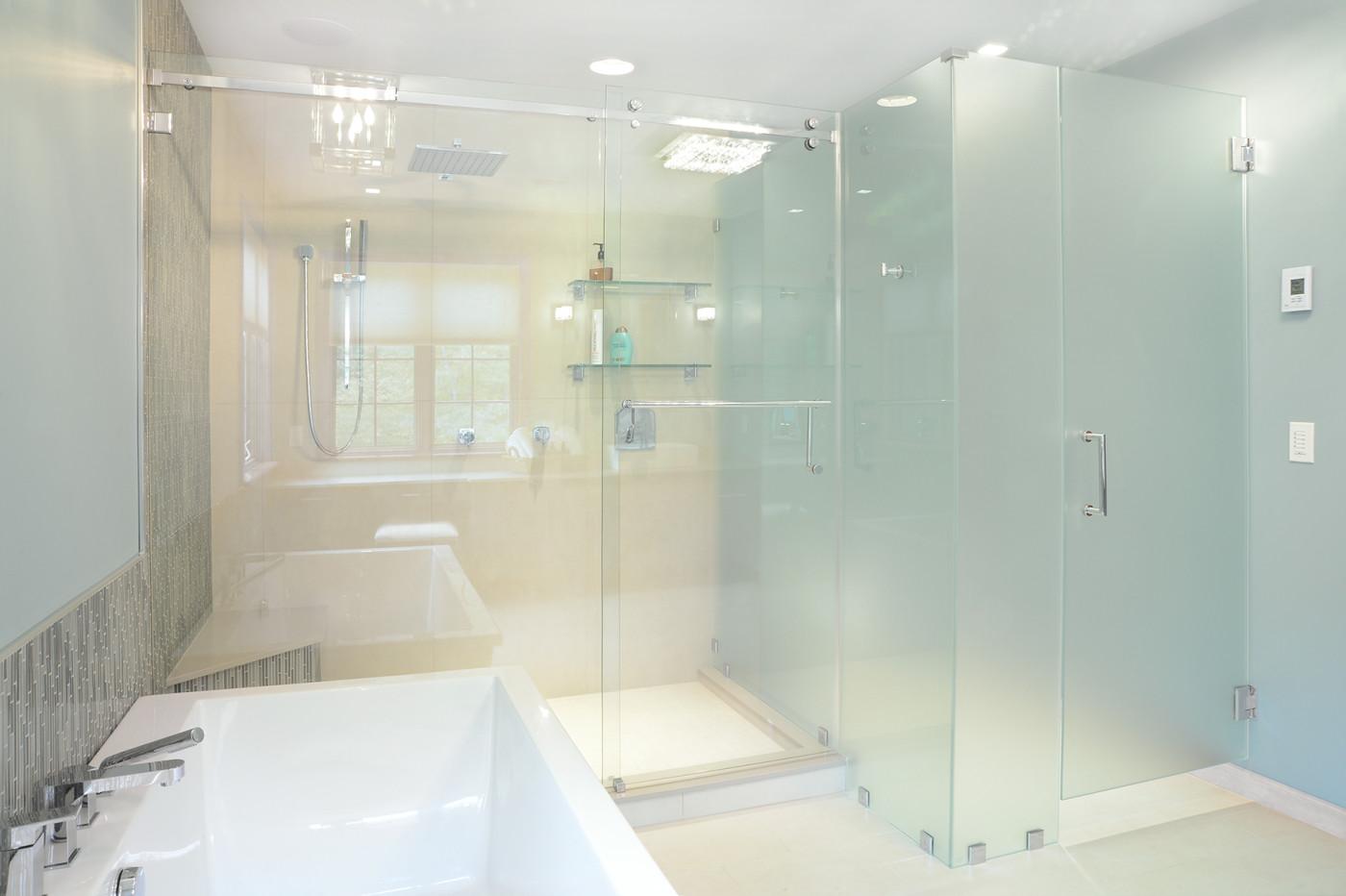 Home Spa Bathroom Design Saratoga Springs Teakwood Builders