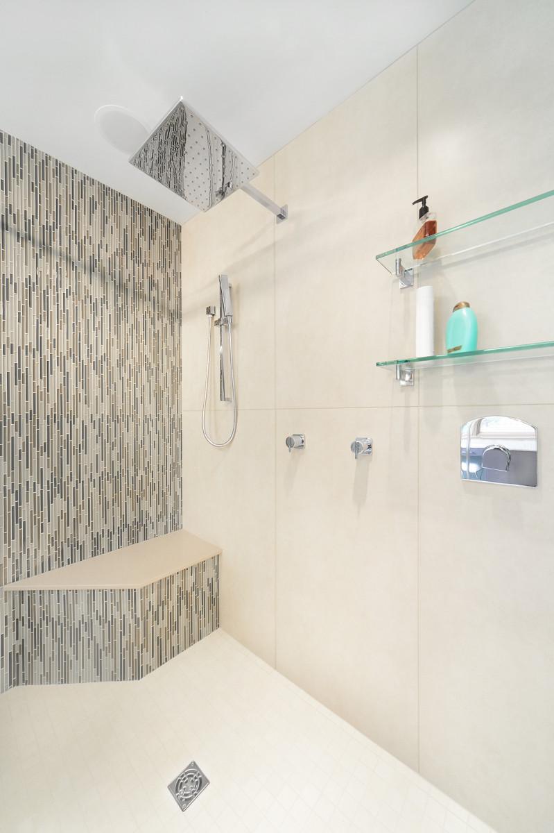 Home spa bathroom design, Saratoga Springs | Teakwood Builders