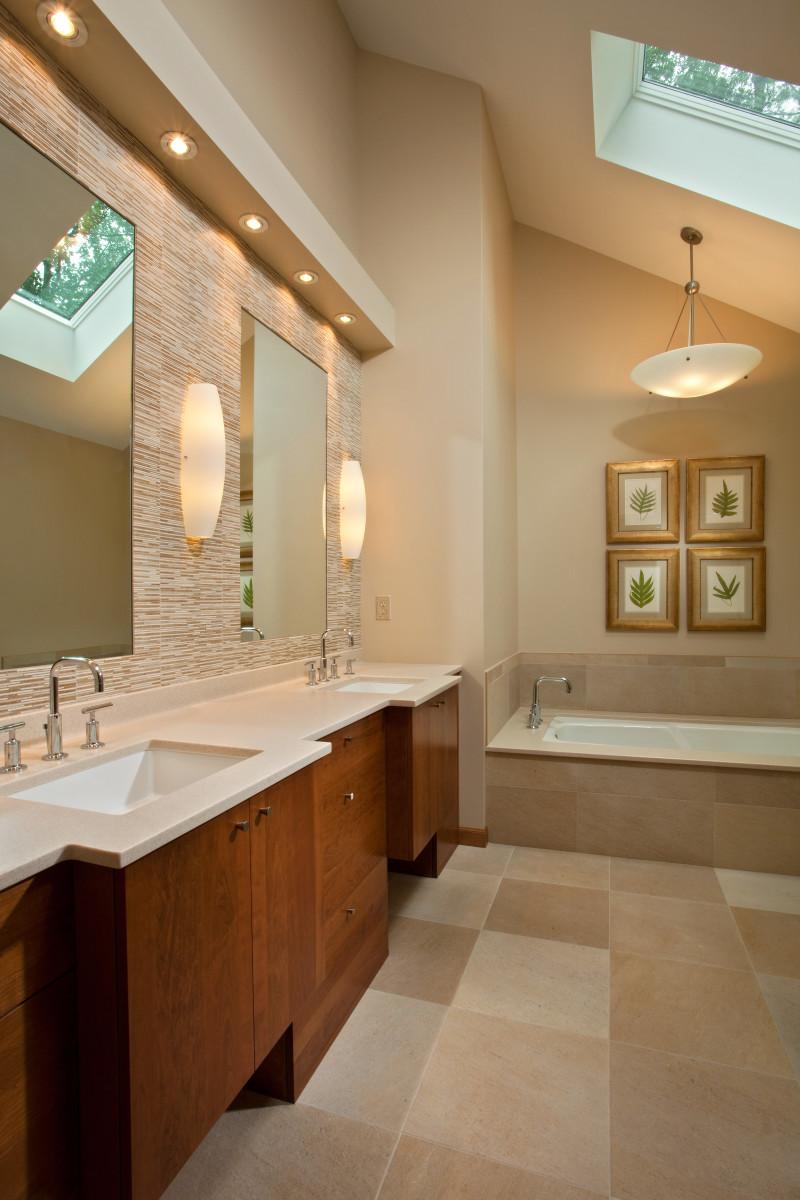 Luxury Bathroom Renovation Teakwood Builders - Bathroom remodel saratoga springs ny