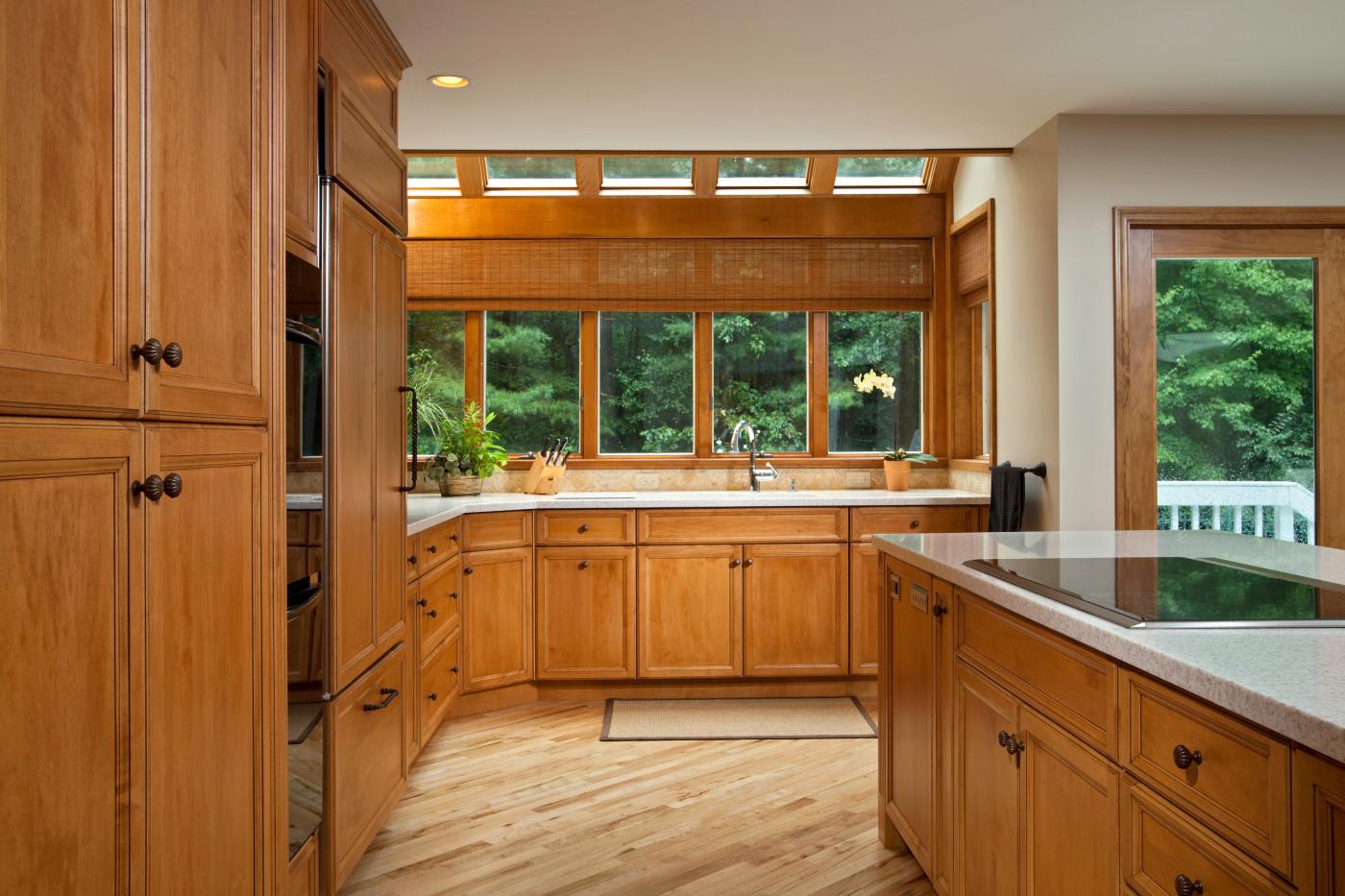 Luxury Kitchen Design With Skylights Teakwood Builders