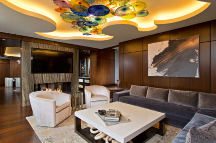 Spectacular basement remodel has it all